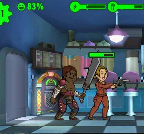 Рейдерская броня в fallout shelter