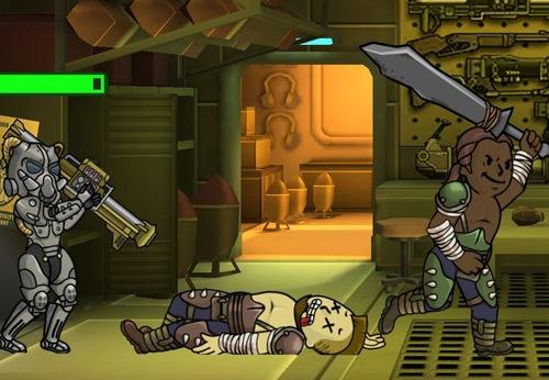 Силовая броня в fallout shelter