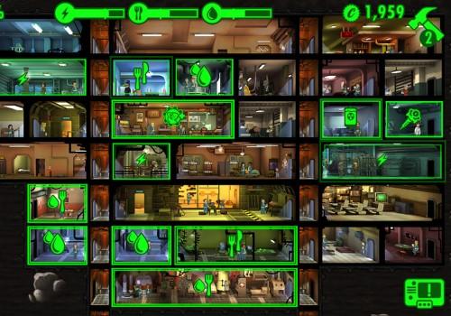 Убежище в игре Fallout Shelter