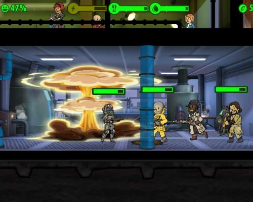 Какое вооружение есть в Fallout Shelter