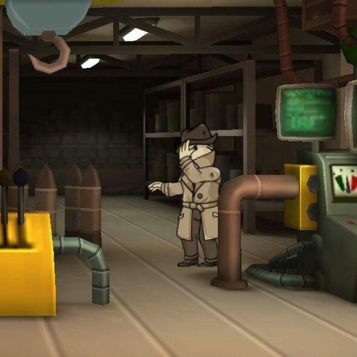 Что делает таинственный незнакомец в fallout shelter