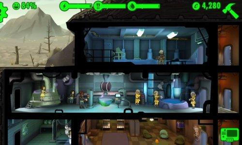 Исчезло убежище в fallout shelter