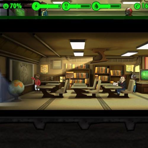 Исчезло убежище в игре fallout shelter