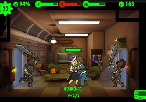 Решаем проблемы в Fallout Shelter