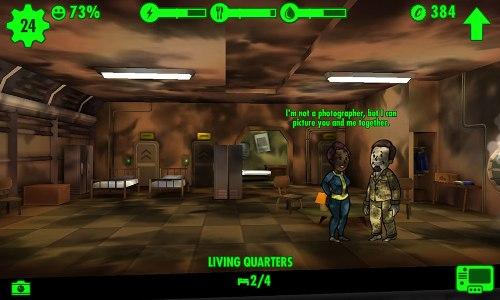 Сколько ресурсов нужно для Fallout Shelter