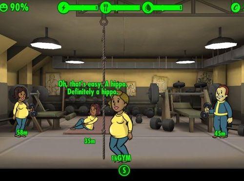 Беременность в Fallout Shelter