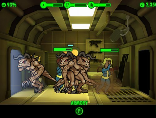 Боремся с когтями смерти в Fallout Shelter