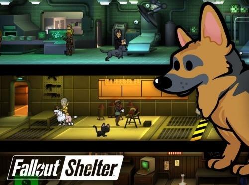 Питомцы в Fallout Shelter