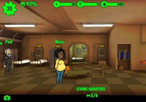 Рождение детей в Fallout Shelter