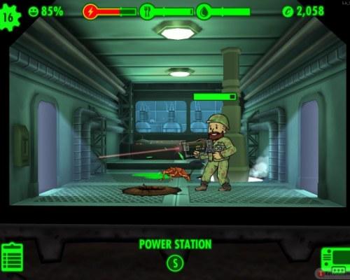 Вооружение в игре Fallout Shelter